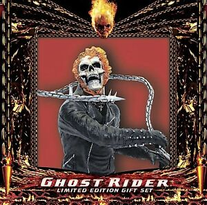 Ghost Rider Bust  (DVD 2-Disc Set, Limited Edition Gift Set Extended Cut) new