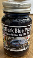 Blue Pearl TH1 Airbrush ready paint Nissan Skyline BNR32 R32 GT-R 60ml 1065 - db