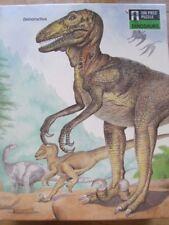 Vintage Dinosaurs Puzzle 200 Piece Deinonychus by Christopher Santoro 1988