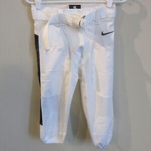 Nike Team Vapor White and Black Pro Football Pants 845930-106