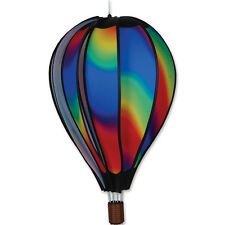 "Hot Air Balloon Style Hanging Wind Spinner, 22"" Wavy Gradient PR 25772"