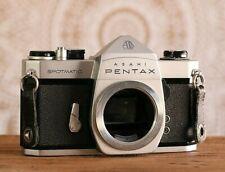 Pentax ASAHI Spotmatic SP 35mm Film Camera, BODY ONLY, M42 Lens Mount, B864