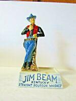 Jim Beam IAJBBSC District 12 Australia Red Vest Cowboy back bar Piece