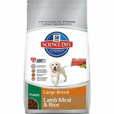 Hill`s Science Diet Puppy Lamb Meal and Rice Recipe Large Breed Dry Dog Food Bag