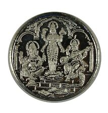 10 GRAMS PURE 999 Silver Coins Laxmi Ganpati Saraswati God For Gift Item