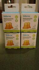 8 Lot KIDSME Food Squeezer Replacement Sacs Orange Circle Holes 4+ months 160364