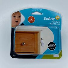 New Safety 1st Furniture Wall Straps 2 Pack - Baby Proofing