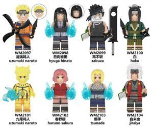 Passt LEGO Anime Naruto Minifiguren  Der neue Ninja! Momochi Zabuza Haku Tsunade