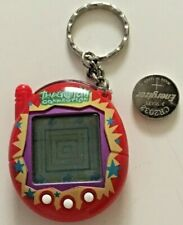 Tamagotchi Connection Bandai China V3 Red Yellow Blue Star Used Works w Battery