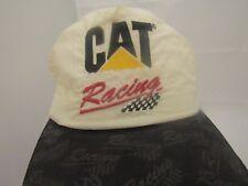 Vintage CAT Caterpillar Racing Snap-Back Hat