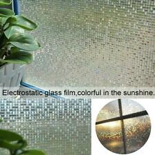 3D Window Films Privacy Film Door Glass Decorative Film Peel And Stick No Glue S