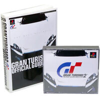 GRAN TURISMO 2 + Hint Book PS1 Sony Japan Import PlayStation PSX Racing