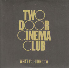 Two Door Cinema Club PROMO-CD WHAT YOU KNOW ( CARDSLEEVE)