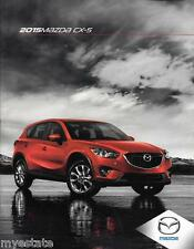 2015 15 Mazda  CX5   Original sales brochure MINT