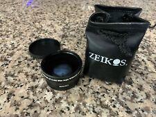 Zeikos 52mm Professional HD DSLR MC AF 0.45x wide angle w/macro lens