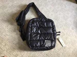 Diesel black messenger crossbody Quilted Puffer Bag Brand New RRP £49