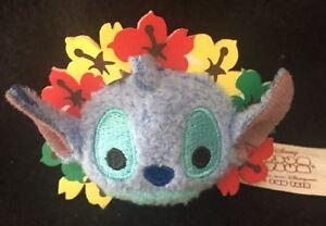 Hong Kong Disneyland HKDL Tsum Tsum Fun Fair 2016 Micro Stitch Plush New