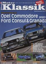 Motor Klassik 9/03 Opel Commodore Ford Consul Mercedes 600 Alfa Romeo Giulia GTC