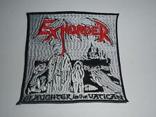 EXHORDER SLAUGHTER IN THE VATICAN EMBROIDERED PATCH