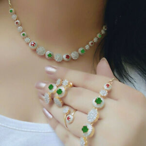 Indian Pakistani Bollywood American Diamond Necklace Multi Combo Party Wedding