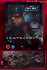 Captain America: Civil War Ultimate Lenticular Steelbook + Art cards + Magnet