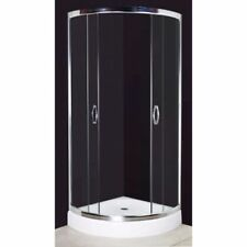Curved/Square Shower Cabin Enclosure Cubicle Quadrant Bathroom Glass Screen Base