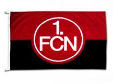 Hissflagge Fahne 1. FC Nürnberg Logo rot-schwarz Flagge - 100 x 150 cm