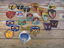 Vintage Cloth Bowling Patches Collectibles Sewing Crafts 1950s-60s-70s Lot of 21