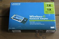 Linksys Wireless-G Notebook Adapter (WPC54G) NEW IN BOX