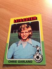 Chris Garland of Leicester - No 165 - Topps Bazooka 1975 Red/Grey Back)