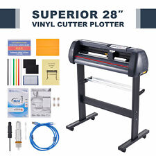 28in Feed Vinyl Cutter Machine 31insec Sign Maker W Signmaster Digital Controls
