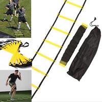 6-rung Agility Ladder for Soccer Football Speed Fitness Feet Training bag+3.5M h