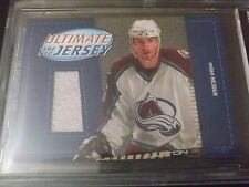 Milan Hejduk 2003-04 Ultimate Mem Game Used Jersey /50 BGS Encased