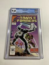 Transformers 30 Cgc 9.8 White Pages Marvel 1987