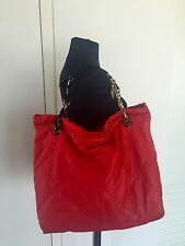 LANVIN Amalia Red Lambskin Quilted bag handbag Amazing ! SALE !