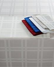 "Martha Stewart Table Linens, Skylight Plaid Set of 3 Napkins GREY - 19"" X 19"""