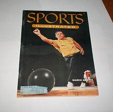1955 Sports Illustrated US CHAMPION bowler STEVE NAGY Cleveland OHIO !  NICE  !