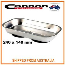"""NEW Stainless Steel Magnetic Tool Parts Tray Bowl 9.5"""" x 5.5"""""""