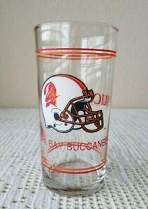Retro Tampa Bay Buccaneers Creamsicle Helmet Logo Pint Beer Drink Glass 20 oz