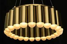 Moderne Laiton Magasin Bricolage Lustre avec 23 Brûleurs en Led Technik.H160 Cm