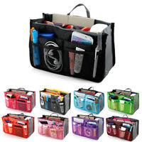 Travel Insert Organizer Handbag Purse Large liner WomenLady Makeup Organiser Bag