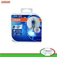 2 Lampade Osram H4 12V 100-90W Lampadine Cool Blue Boost 5000K - 62193CBB-HCB