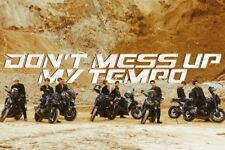 EXO-DON'T MESS UP MY TEMPO OFFICIAL UNFOLDED POSTER (MODERATO VER)