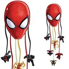 Spiderman Pinata zum Ziehen für Partyspiele zum Spinnen-Kindergeburtstag, 29,5cm