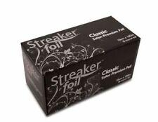 Streaker Foil - Silver - Small 100mm x 100m