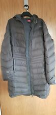 Ladies size 14 TOG24 winter Coat Jacket Olive Green Long Down Feather