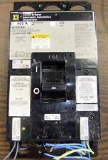 Square D 400A Circuit Breaker Lhl3640030Dc1625