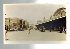 1938 Maracaibo Venezuela Real picture Postcard Cover to USA Mercado City Market