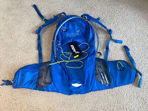 NWT INOVA BRAND NEW Inov8 Race Elite Marathon Running Backpack Blue & Lime Green