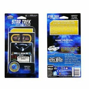 STAR TREK ATTACK WING CARD PACK BRAND NEW & SEALED ~ OBERTH CLASS